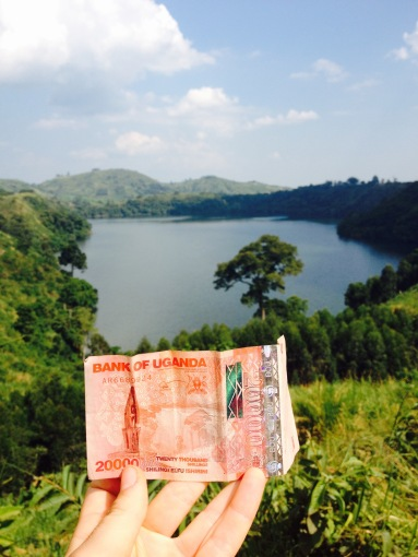 The sight of the 20,000 shilling bill